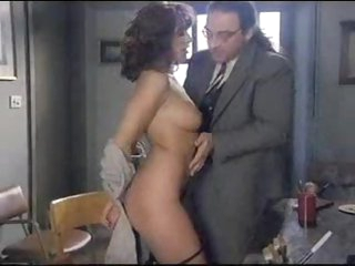 Anal sex brunette rubs her gorgeous pussy