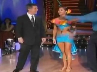 Unbelievably Hot Anna Trebunskaya Dancing In a Super Tight Costume