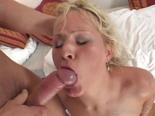 Busty Blond MILF Kathy Anderson Acquires Ass Drilled and Facialized