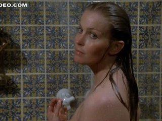 Mesmerizing Blond Bo Derek Shows It All in the Shower