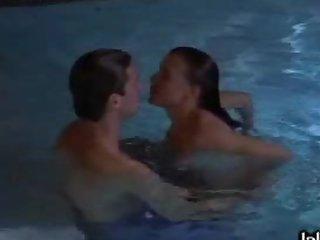 Cock-Bursting Playgirl Rhea Hanson-Nichollis Gets Fucked In a Pool