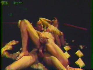 John Holmes Copulates Sally Peeper's Shaggy Pussy - Vintage Porn