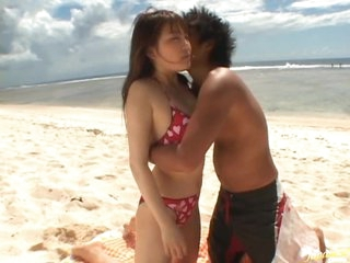 Cute Asian Sweetheart Momo Gets Fucked and Covered in Cum Below the Sun