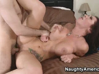 Breasty tattooed bitch Jayden James acquires her sweet bawdy cleft stuffed hard