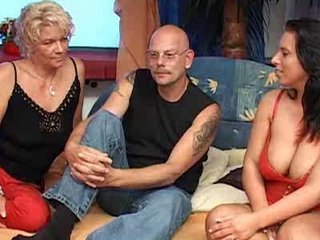 Nothing Like A Good Old Aged German Threesome