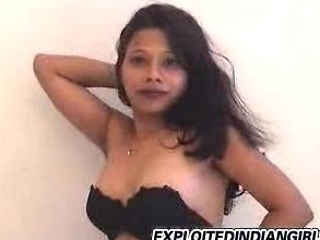 Indian babe strips then plays with her wet love tunnel