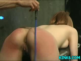 Chastise a hot slave girl