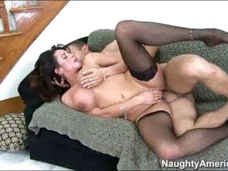 Ariella Ferrara enjoys getting her pussy stuffed by her boyfriend's package.