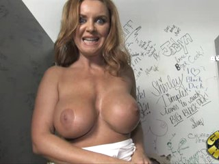 Astounding Janet Mason gets her massive melons out