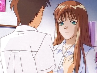 Anime school sex gorgeous teacher got fucked