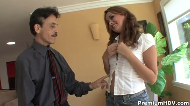 Allie haze loves fucking old big dicks