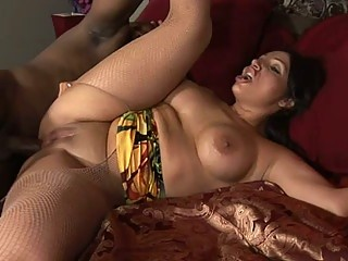 Vannah gets her pussy fucked hard and deep by a black diamond