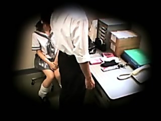 Schoolgirl caught stealing blackmailed 1