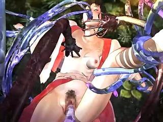 Anime hentai girl fucked hard