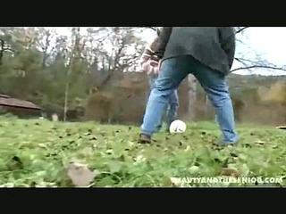 Soccer coach teaches her a lesson
