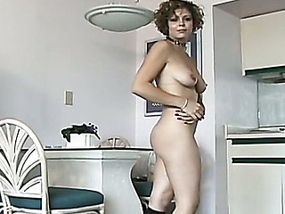 This Guy lightly spanks her wazoo