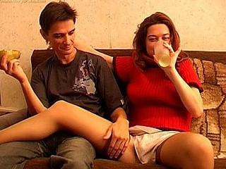 Sexy drunken sex