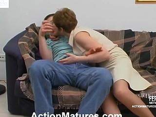 Margaret&Oscar kinky aged action