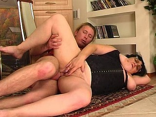 Victoria&Anthony red sexy older action