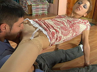 Sophy&David nasty nylon action