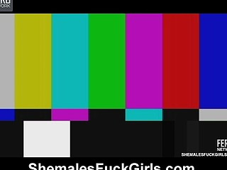 Gracy Ohara shemale screwing gal on movie scene