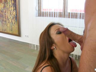 naughty milf gets her pussy licked after blowjob