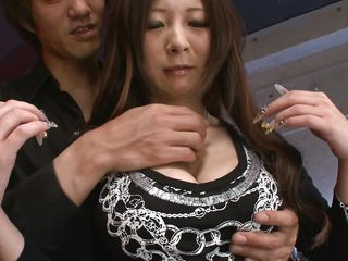 slut gets her nipples hard