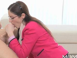 Erotic threesome fucking blowjob 2