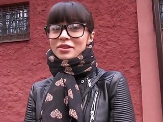 Mona in Russian Creampied Into public notice for Cash - PublicAgent