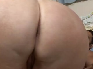 Aged larger butt