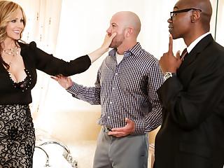 Julia Ann, Sean Michaels, Will Powers in Mom's Cuckold #15,  Scene #01