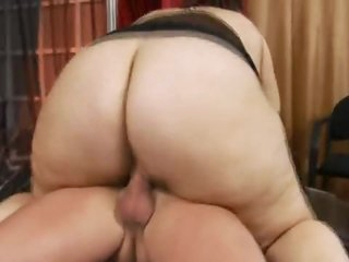 A super fat bitch that likes dick