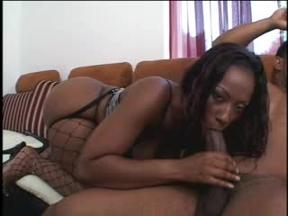 He drills the fat black ass whore hard