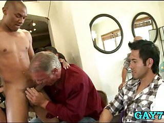 Gay like penis sucking party