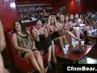 Ordinary girls love CFNM strippers