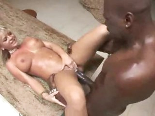 Curvy Bree Olson interracial hardcore sex
