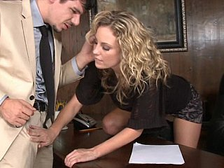Combine business and enjoyment by having sex at work